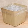 "12"" x 12"" Polyethylene Ice Bucket Liner, 1000/Case"